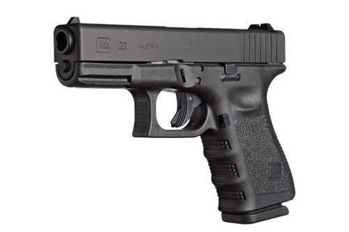 """GLOCK G23 G3 40S&W 13+1, 4.01"""" Barrel, Fixed Sights, Black, with 2-13RD Mags, Accessories & Case PI2350203"""