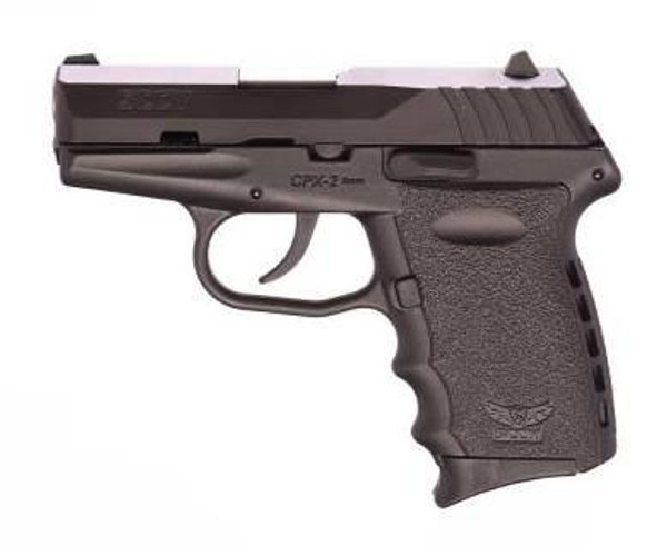 SCCY CPX-2CB 9MM 10+1 No Safety, Polymer Frame CPX-2 Black