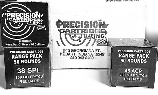Precision Cartridge Reload 50RD Range Pack TCJ