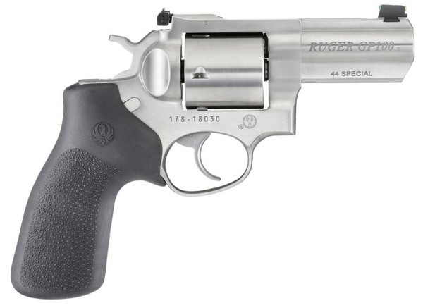 """Ruger GP100 1761 44Mag 3"""" Barrel, Stainless Finish"""