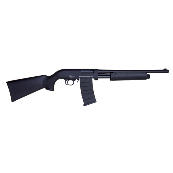 "Black Aces Tactical Pro Series M BATP18S Pump Shotgun 12GA, 5-Shot, 18.5"" Barrel"