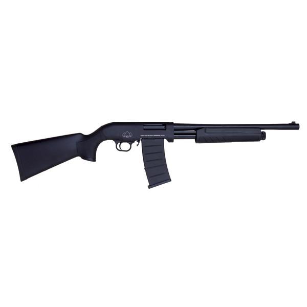 """Black Aces Tactical Pro Series M BATP18S Pump Shotgun 12GA, 5-Shot, 18.5"""" Barrel"""