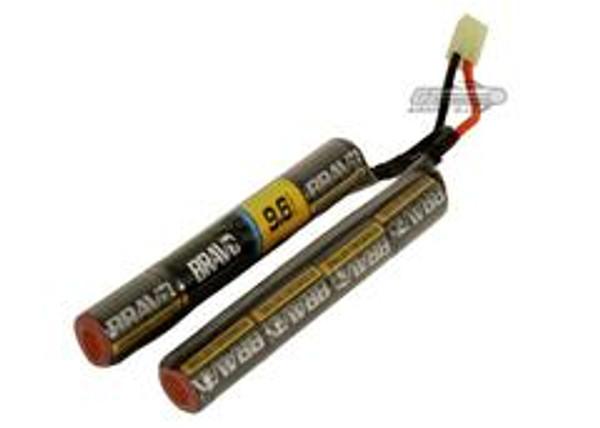 BRAVO 9.6V 1600MAH NIMH High Performance Nunchuck Airsoft Stick Battery