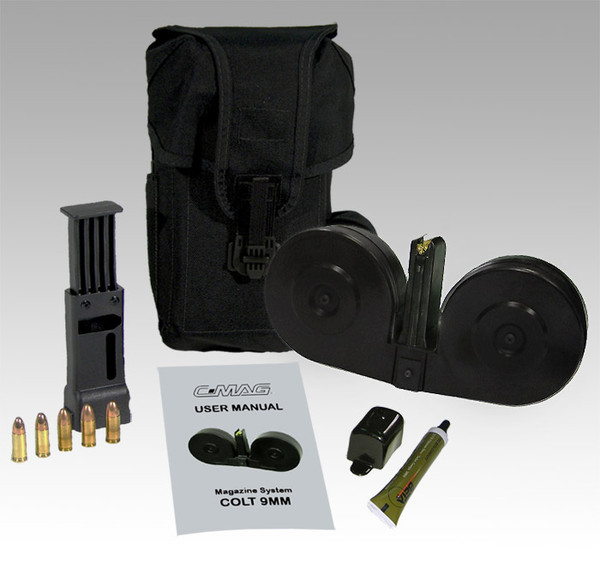 BETA C-MAG System Colt 9mm 100RD Clear MCS921