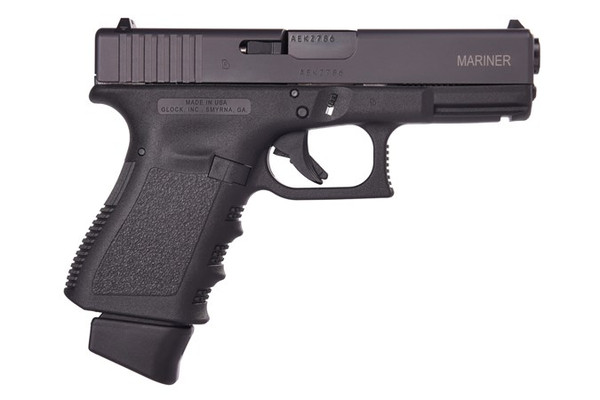 "Glock G19 G3 Mariner 9MM 15+1 4.0"" FS 3-17RD Mags, Mariner Slide Etching EI1955206EM3"