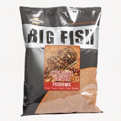 Dynamite Baits Big Fish Explosive Caster Feeder Mix Groundbait