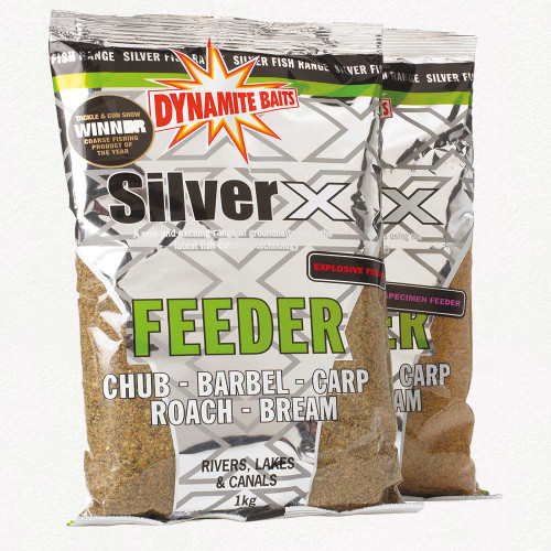 Dynamite Baits Silver X Explosive Feeder Groundbait