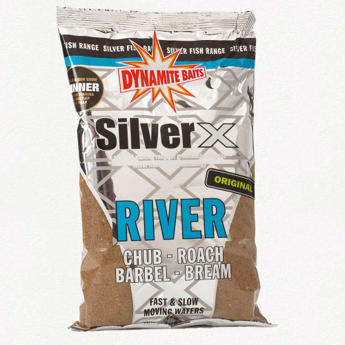 Dynamite Baits Silver X River Groundbait