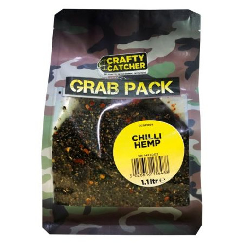 Crafty Catcher Chilli Hemp Grab Bag 1.1l