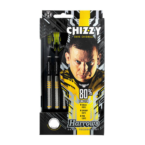 Harrows Chizzy 80% Tungsten Darts 24gr