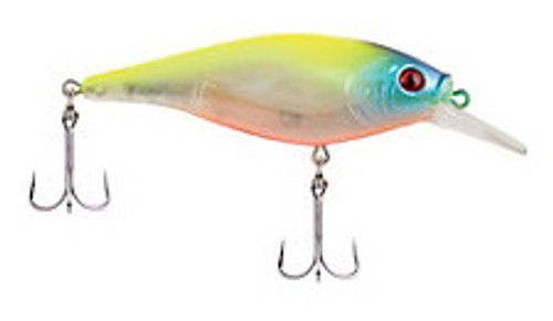 Berkley Flicker Shad Flashy Chartreuse