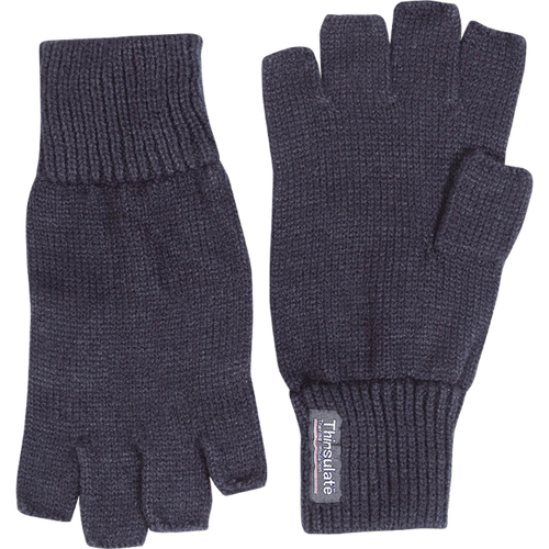 Thinsulate Lined Fingerless Mitts