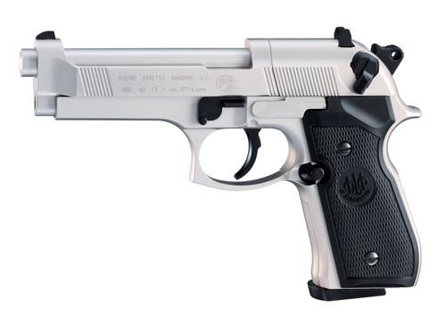 Beretta M92 FS Nickel