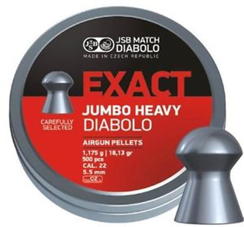 JSB Jumbo Diablo Heavy .22