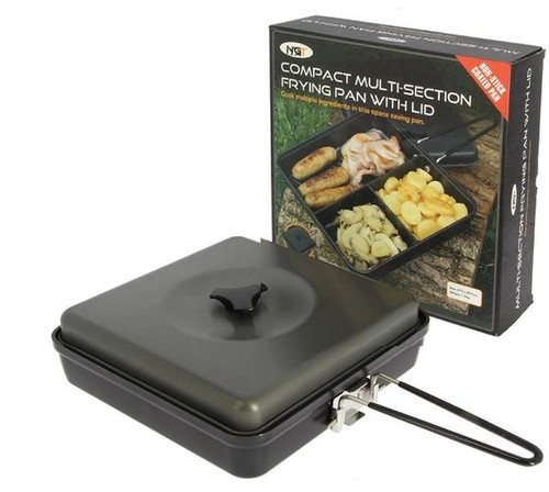 NGT Compact Multi Section Frying Pan