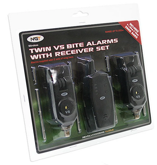 NGT VS Twin Alarm and receiver set