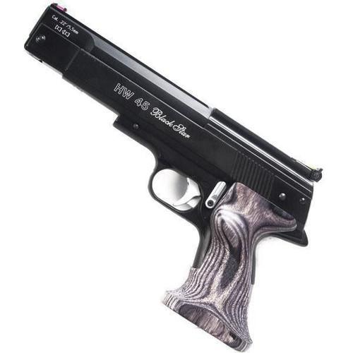 Weihrauch HW45 Black Star Pistol