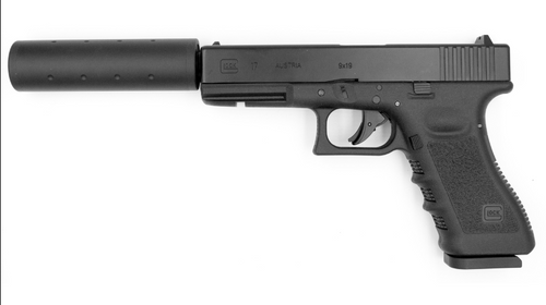 Umarex Glock 17 Dual Ammo Threaded With Silencer