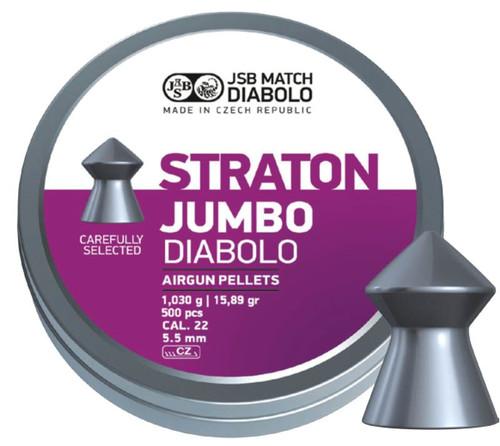 JSB Exact Straton .22 Air Gun Pellets