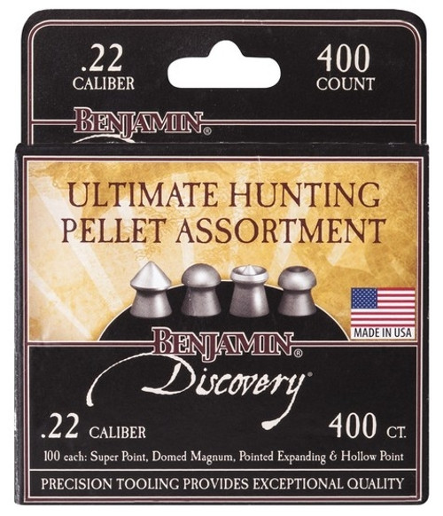 Crosman Hunting Assortment .22 Pellets