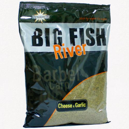 Dynamite Baits Big Fish River Cheese & Garlic Groundbait