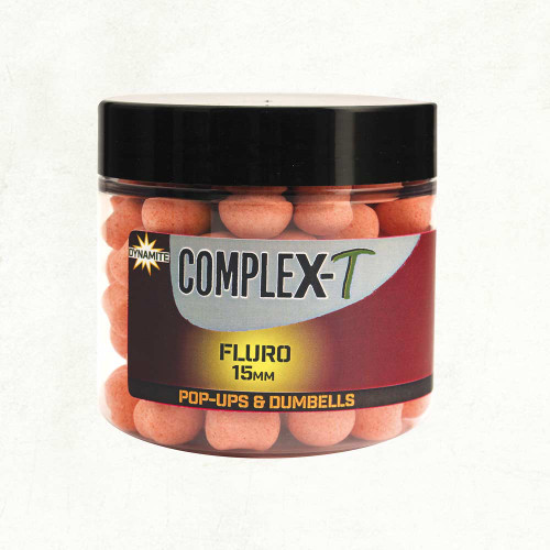 Dynamite Baits Complex-T Fluro Pop Ups 15mm