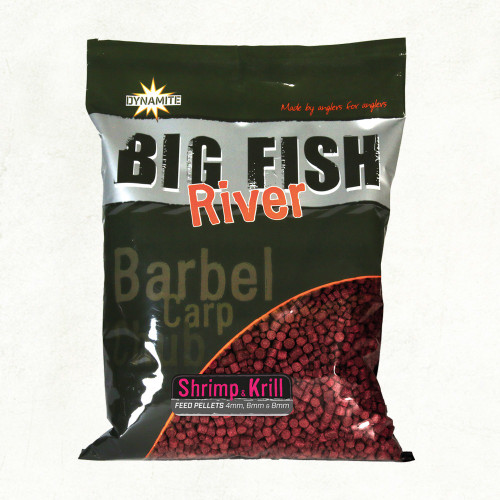 Dynamite Baits Big River Pellets Shrimp & Krill