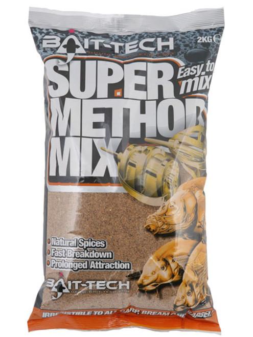 Bait Tech Super Method Mix Red Groundbait