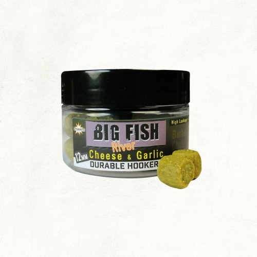 Dynamite Baits Big Fish River Durable Hookers Cheese & Garlic