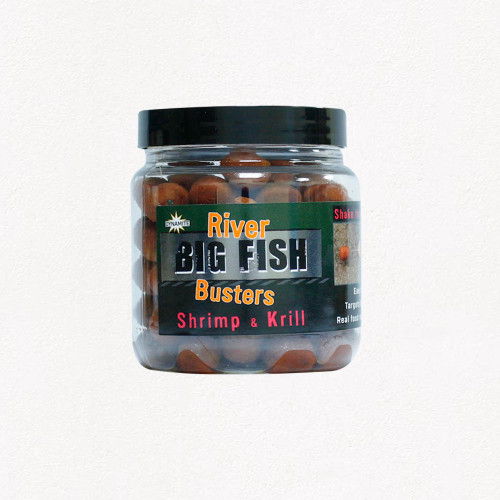 Dynamite Baits Big Fish River Busters Hookbaits Shrimp & Krill