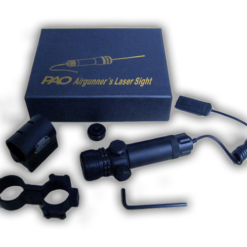 PAO Airgunners Green Laser Set