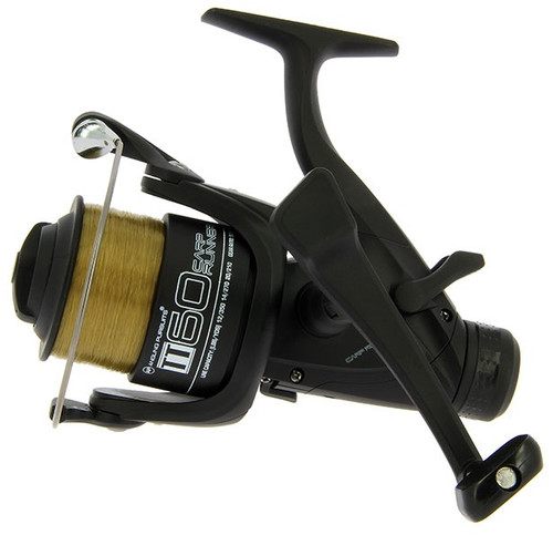 Angling Pursuits TT 60 4BB Carp Runner Reel with 10lb Line and Spare Spool