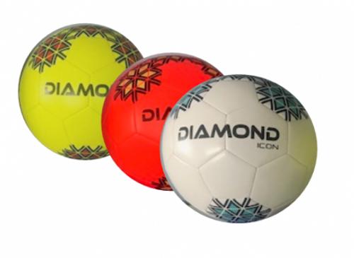 Diamond Icon Football (White) Pack of 10