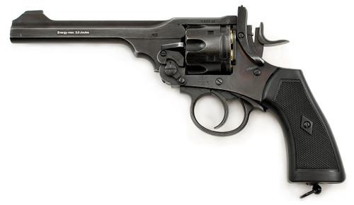 Webley MKVI Service Revolver Battlefield Finish Pellet