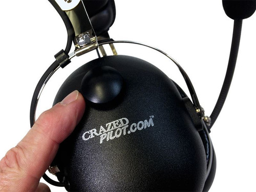 CRAZEDpilot CP-1 HELICOPTER Pilot Headset