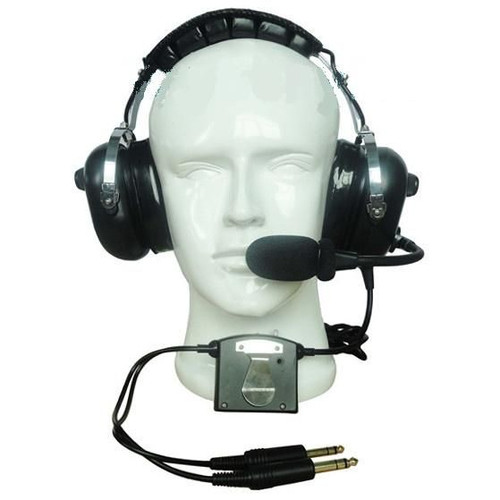CRAZEDpilot CP-1ANR ACTIVE noise reduction headset for aircraft