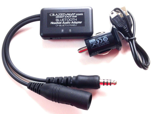 Bluetooth Helicopter Headset Interface for ForeFlight & Garmin Pilot