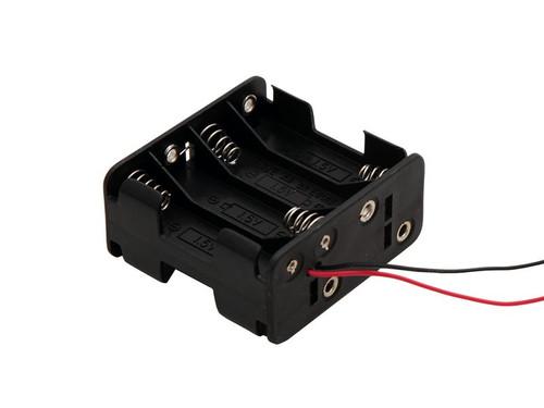8-AA Battery Box for LED lighting