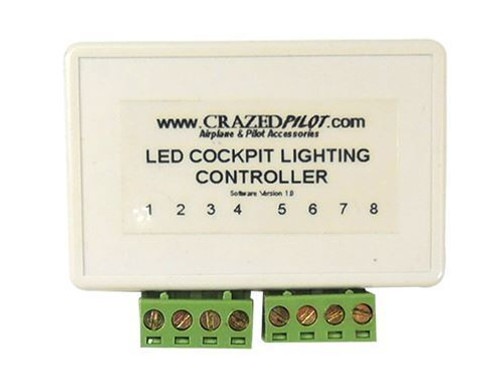 Digital Dimmer Controller for LED Lighting - Up to 15ft or 5 amps!