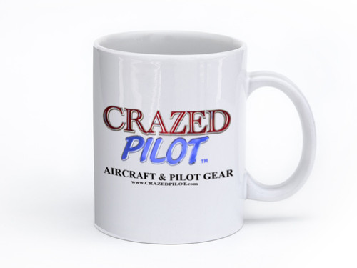 CRAZEDpilot MUG - share that you're CRAZED with all your coworkers!