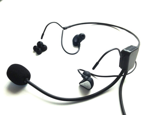 CRAZEDpilot In-The-Ear Headset