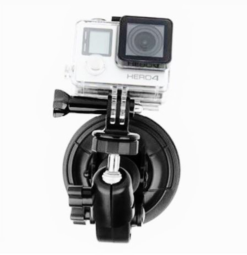 Single Head Camera Suction Mount for Aircraft or Heli