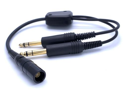 LEMO to GA Adapter For David Clark Bose X and Lightspeed