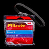 Bags and Parts,Parts and Accessories,Vacuum Belts,EUREKA,67037,67037 Eureka Electrolux Vacuum Belt 3M Filtrete
