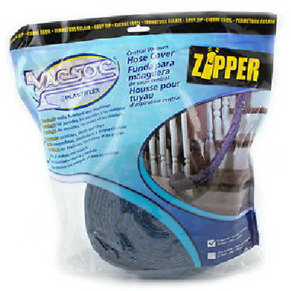 UNIVERSAL 30' ZIPPED CENTRAL VACUUM HOSE COVER