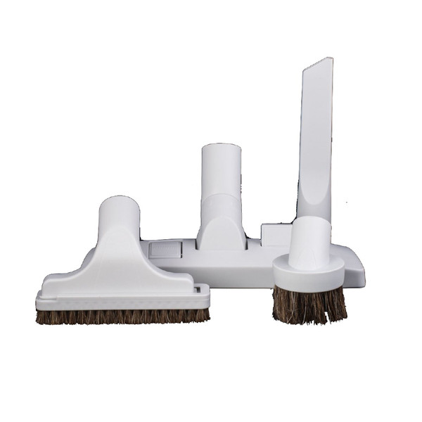 """UNIVERSAL CENTRAL VACUUM 12"""" COMBO TOOLS - GREY"""