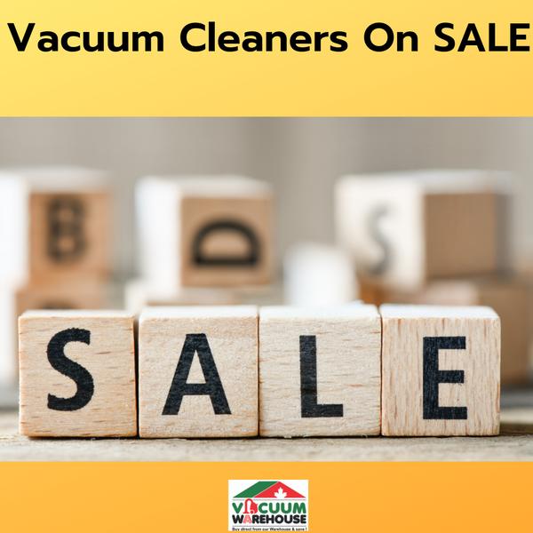 Vacuum Cleaners On Sale