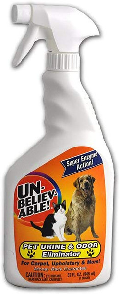 UNBELIEVABLE PET URINE AND ODOR ELIMINATOR - 32 oz