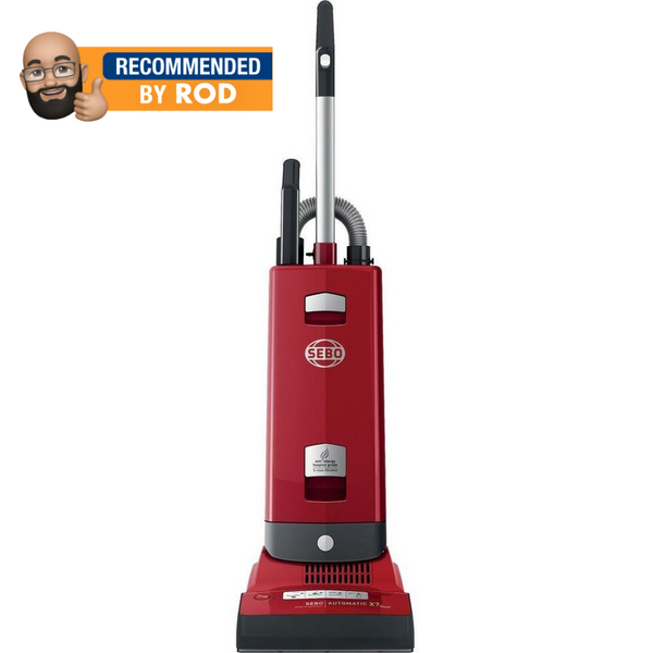SEBO AUTOMATIC X7 UPRIGHT VACUUM CLEANER