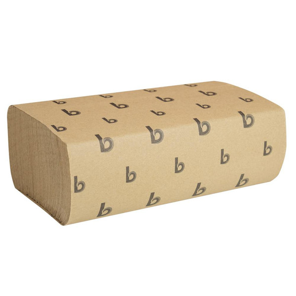 Janitorial and Cleaning Supplies,Disposable Paper,Paper Towel,BOARDWALK,BWK6202,Boardwalk Multifold Paper Towels Natural Bwk6202